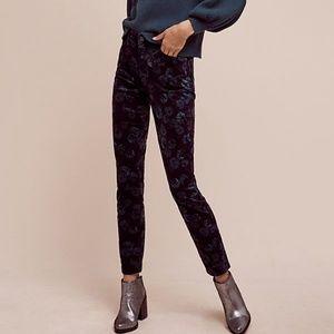 Pilcro & Letterpress by Anthropologie velvet jeans
